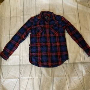 American Eagle Outfitters Sz S Women's Plaid Shirt